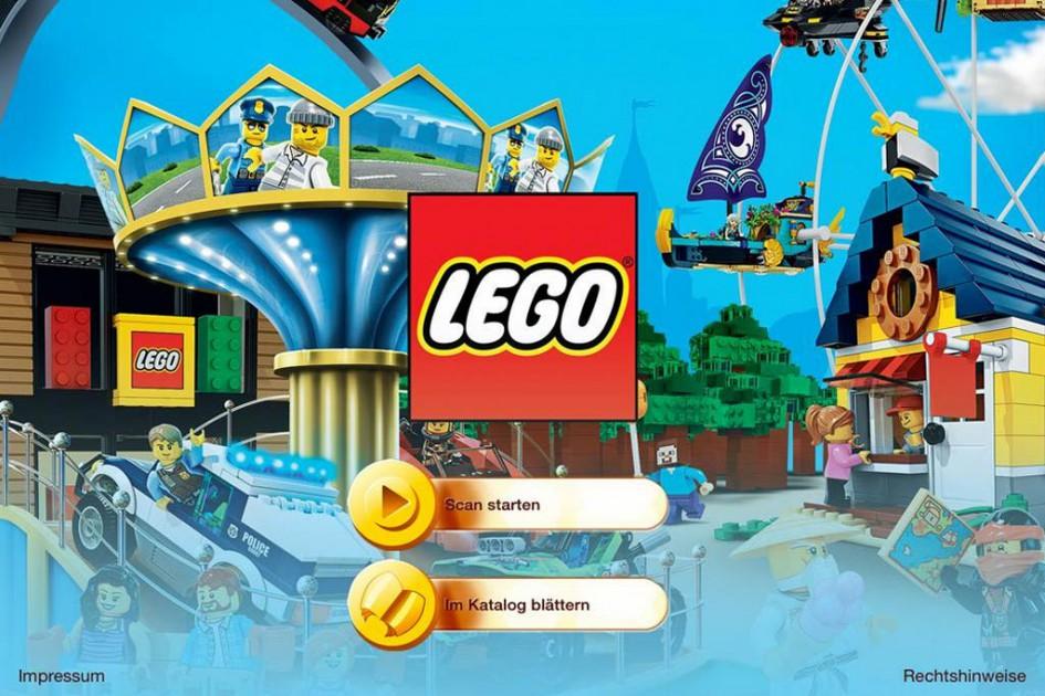 Lego-Katalog in 2D und in 3D | © Lego Gruppe