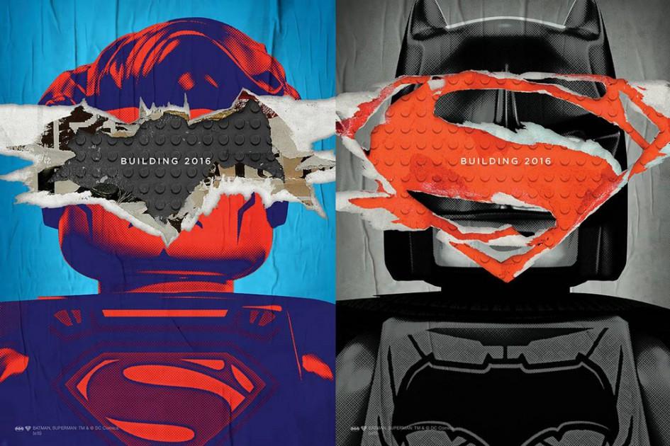 Superman und Batman haben in 2016 viel vor   © LEGO Group