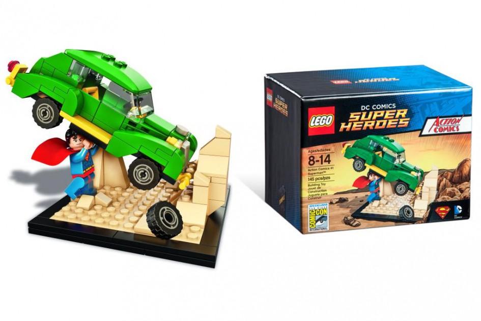 Starke Sache: Exklusives Superman-Set | © LEGO Group