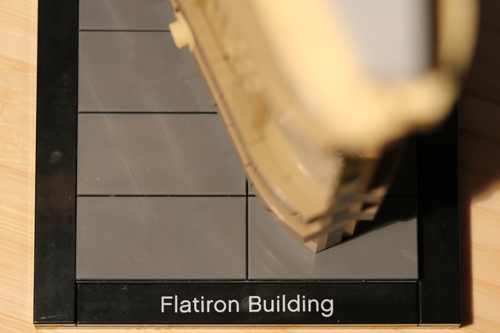 Flatiron Building samt Schriftzug | © Andres Lehmann