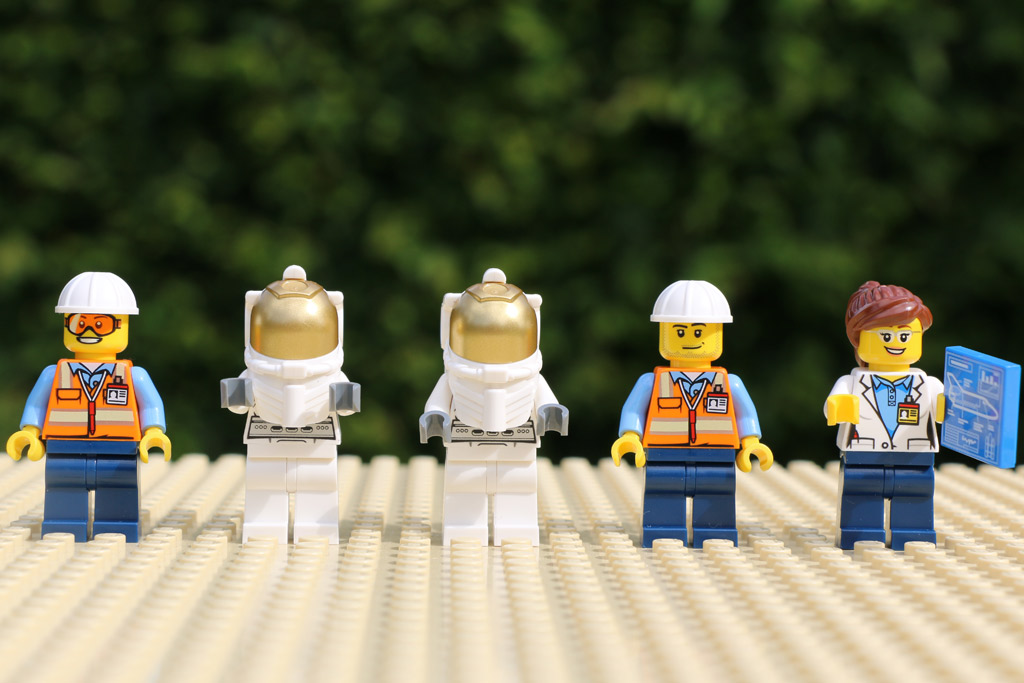 Fünf Weltraumabenteurer | © Andres Lehmann