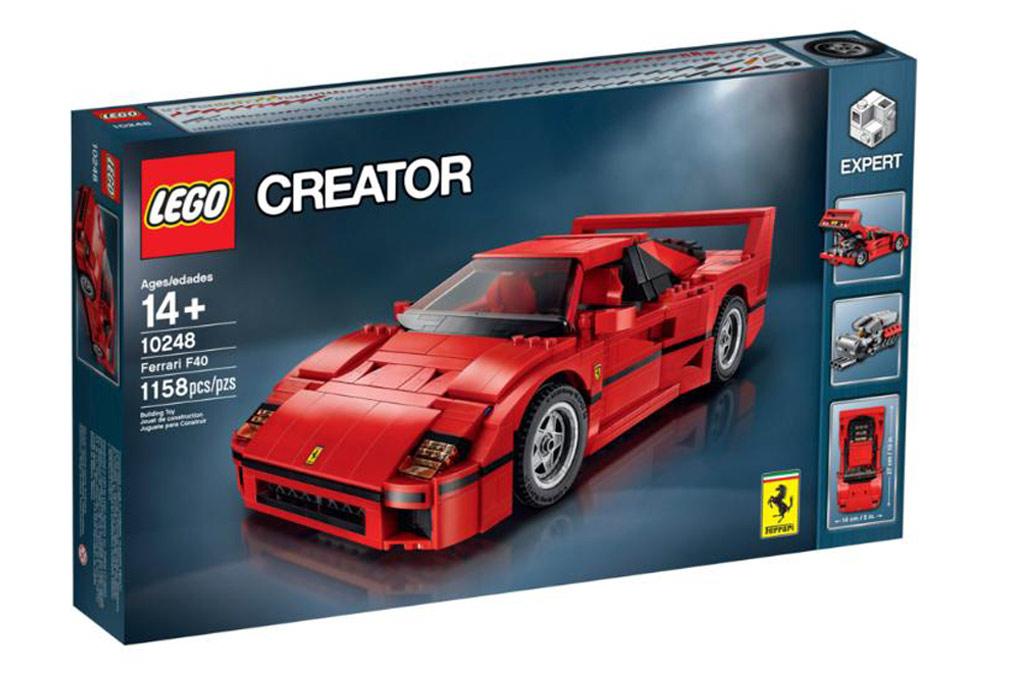 Achtung, hier kommt ein Karton! | © Lego Gruppe