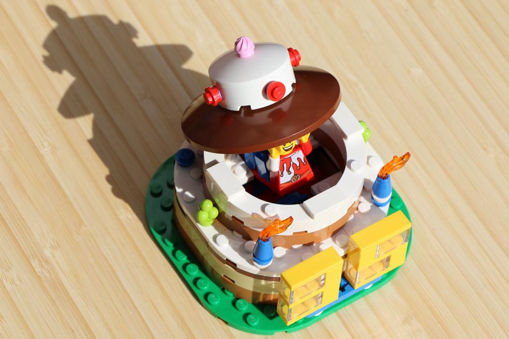 Eine Brick-Torte zum Wiegenfeste | © Andres Lehmann