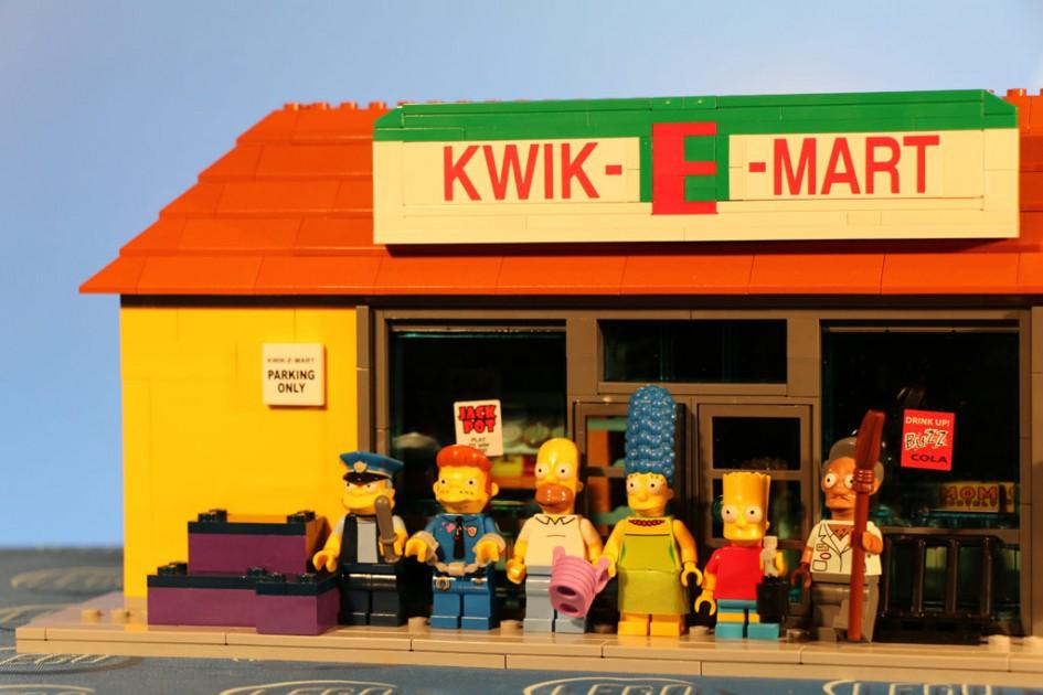 Lego The Simpsons: Kwik-E-Mart | © Andres Lehmann