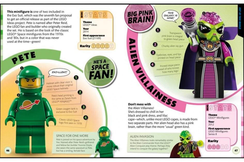 Diese Kollegen dürften Minifiguren-Freunden bekannt sein. | © DK/ Lego Group
