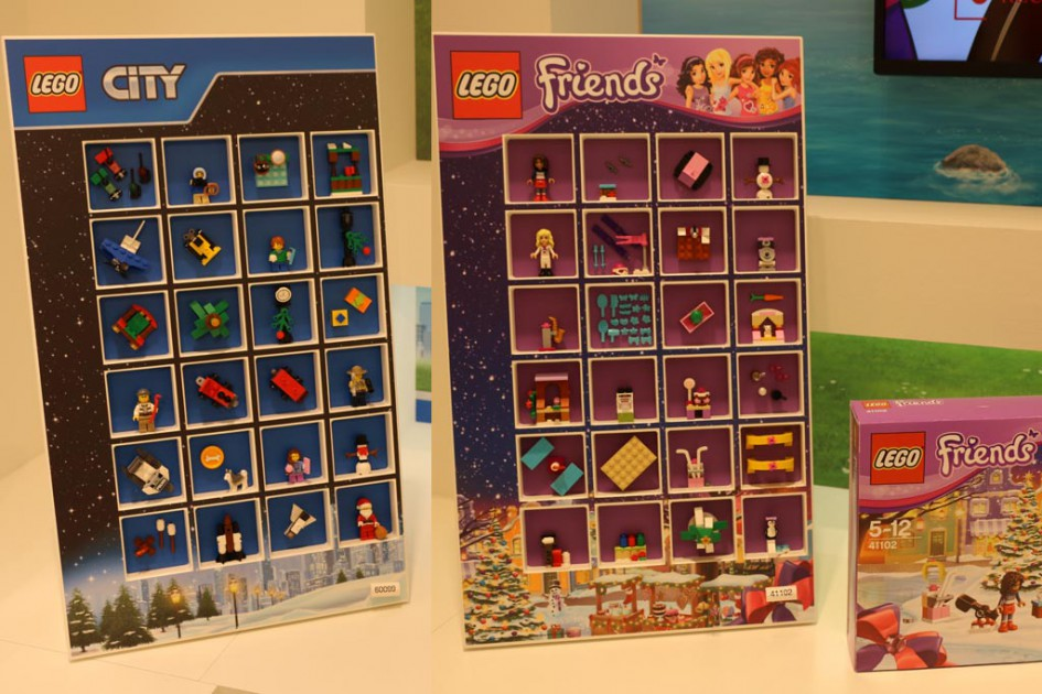 Lego City und Friends Adventskalender 2015 | © Andres Lehmann