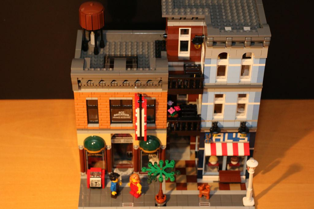 In voller Pracht: Das LEGO Detektivbüro | © Andres Lehmann