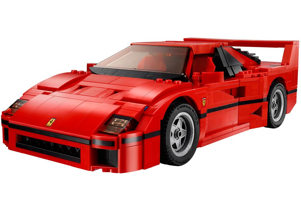 Der Lego Ferrari F40   © Lego Gruppe