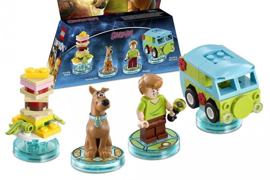 Scooby Doo greift ins Dimensions-Spielgeschehen ein   © Lego Gruppe/ Warner