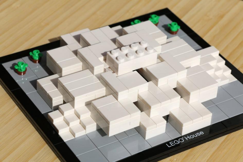 Das Lege House samt Achter als Architecture-Modell   © Andres Lehmann