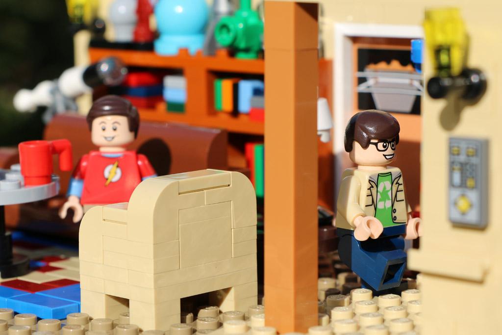 Lego TBBT: Auf so eine Idee muss man erst einmal kommen | © Andres Lehmann
