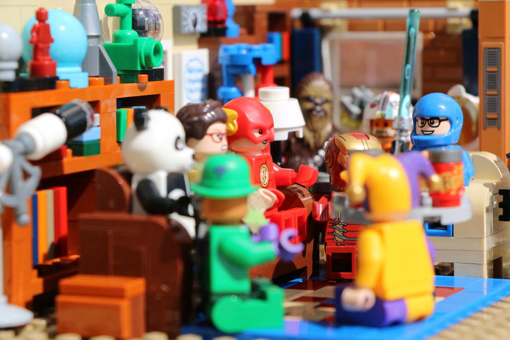 Lego Nerd Party in der WG von Sheldon und Leonard | © Andres Lehmann