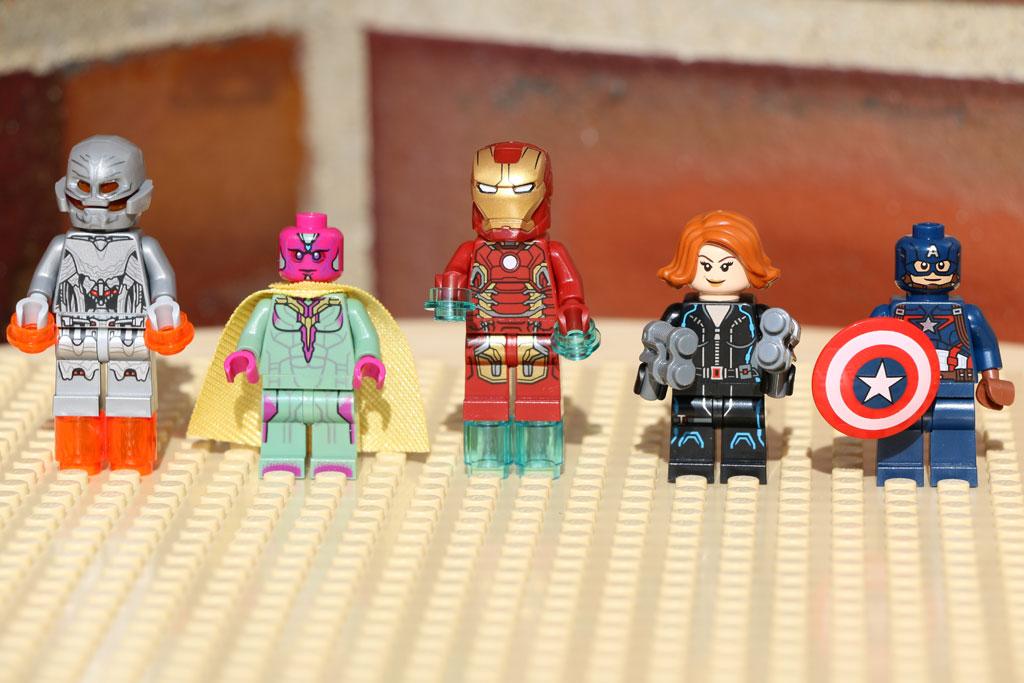Die Avengers und der Schurke Ultron | © Andres Lehmann