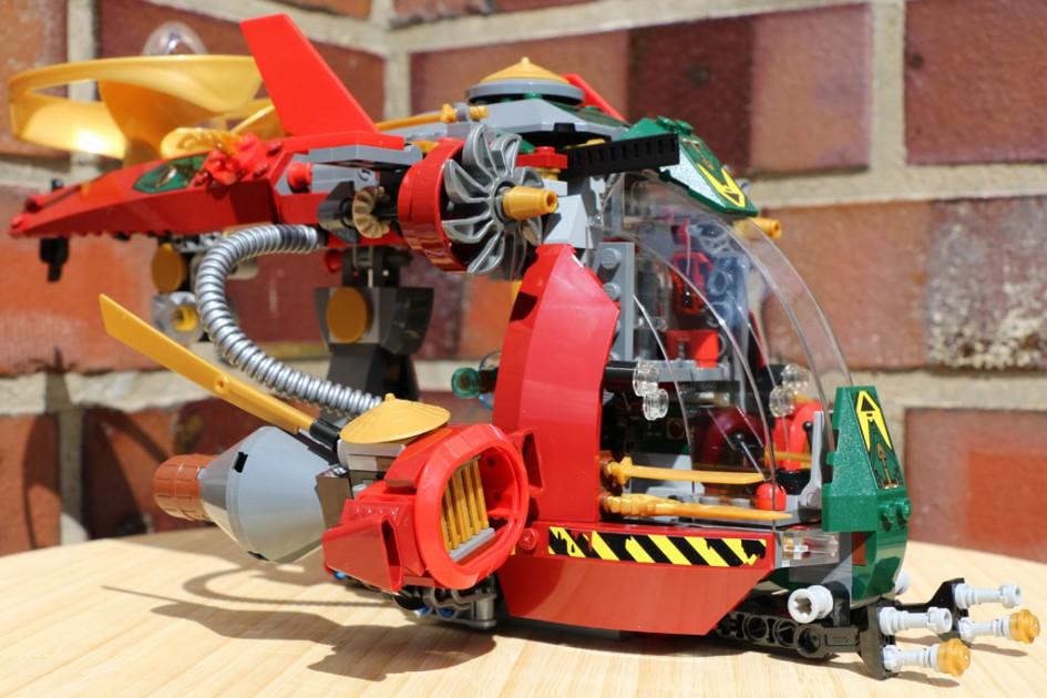 Der Lego Ninjago Ronin R.E.X. | © Andres Lehmann
