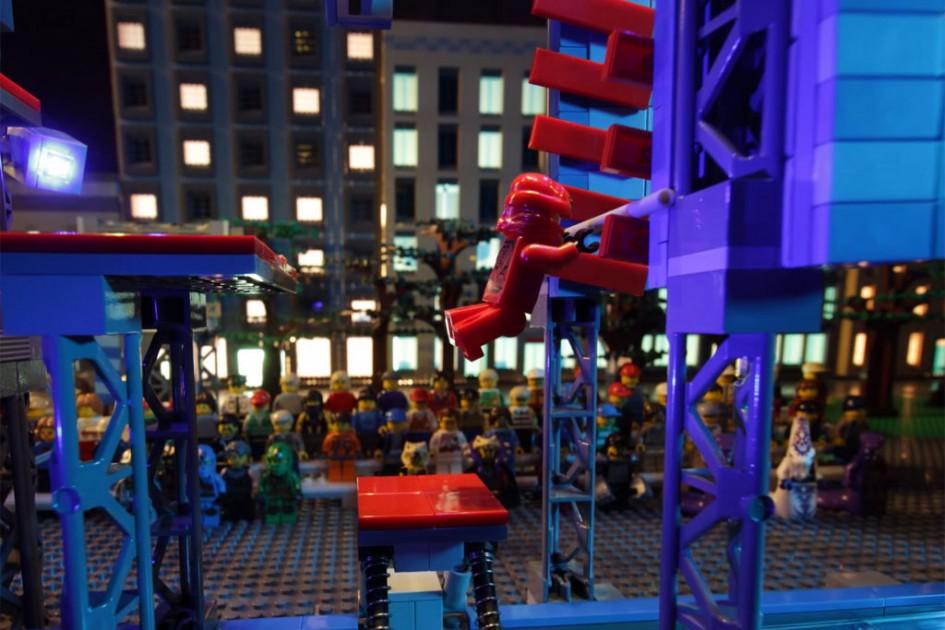 Ninjago Kai zeigt allen, wo der Hammer hängt! | © Lego Gruppe/ Tokyo Broadcasting System Television