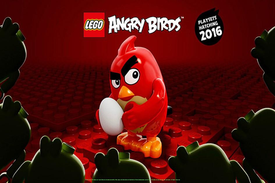 Kommt ein Vogel geflogen... | © Rovio/ Lego Gruppe