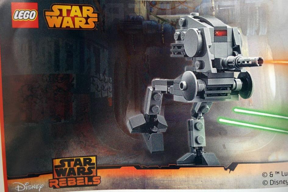 Der Lego Star Wars AD-DP ist geschrumpft | © Andres Lehmann