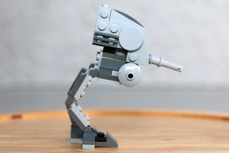 Kleiner Lego Star Wars AT-DP | © Andres Lehmann