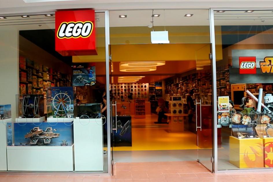 Einiger Lego Store in Belgien | © Joscha Wagner