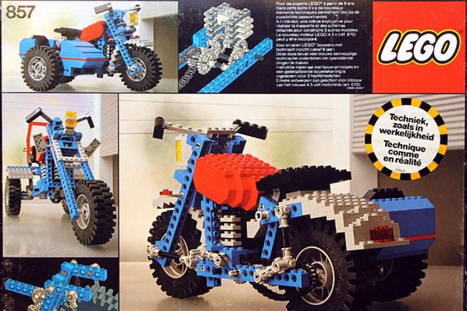 Lego und Technic-Motorräder: Eine lange Geschichte | © Lego Gruppe