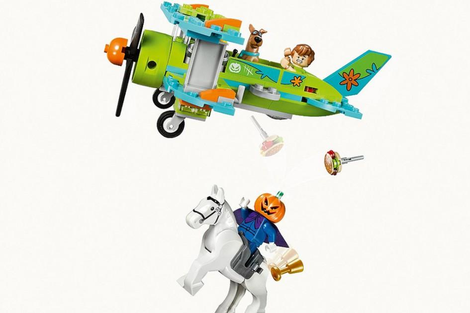 Lego Scooby-Doo hebt ab! | © Lego Group