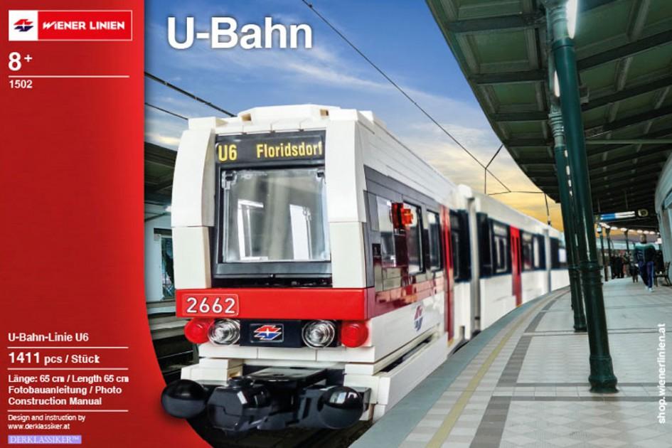 Die U6 der Wiener Linien fährt ein | © Wiener Linien