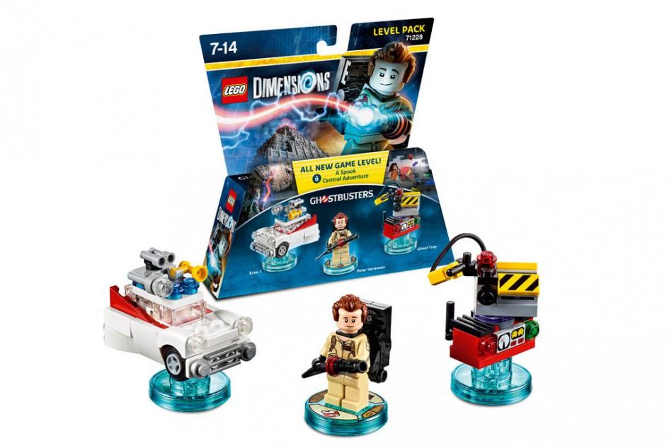 Ghostbusters Level Pack für Lego Dimensions | © Warner