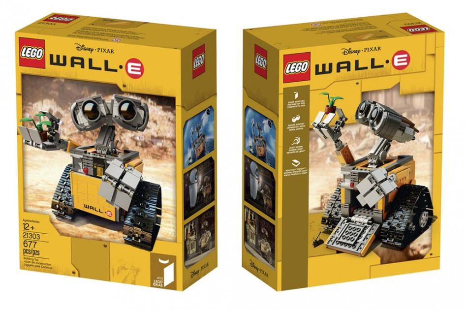 Wall-E rollt an!   © Lego Group