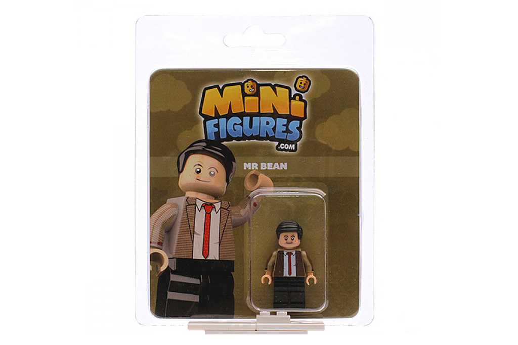 Mr. Bean als Minifigur samt schmucker Verpackung | © minifigures.com