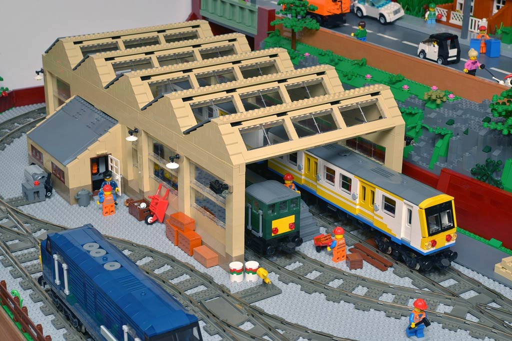 Interview with Huw Millington: Brickton, a MOC Lego City in England