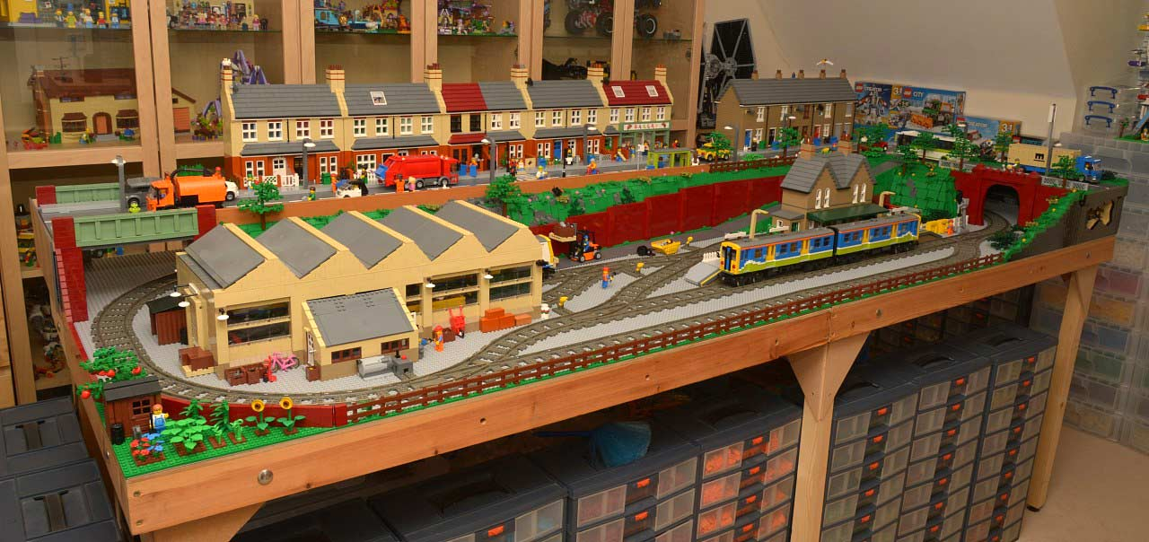 Interview With Huw Millington Brickton A Moc Lego City In England Zusammengebaut