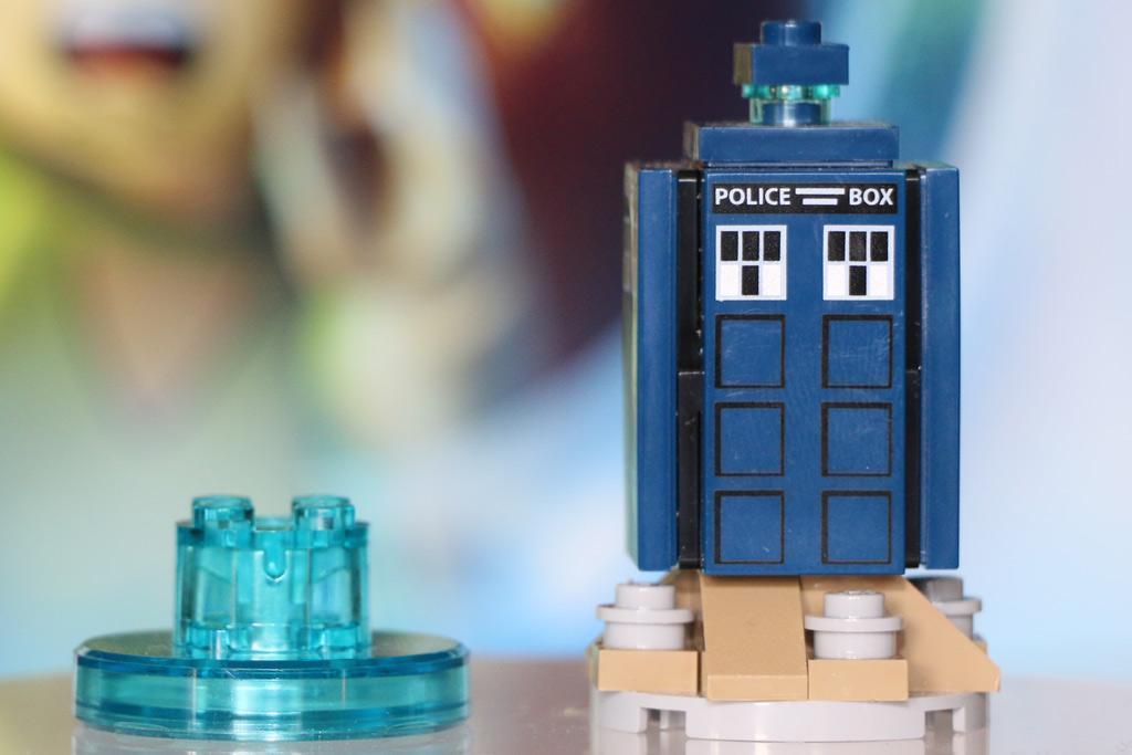 Lego Dimensions Chip und TARDIS | © Andres Lehmann