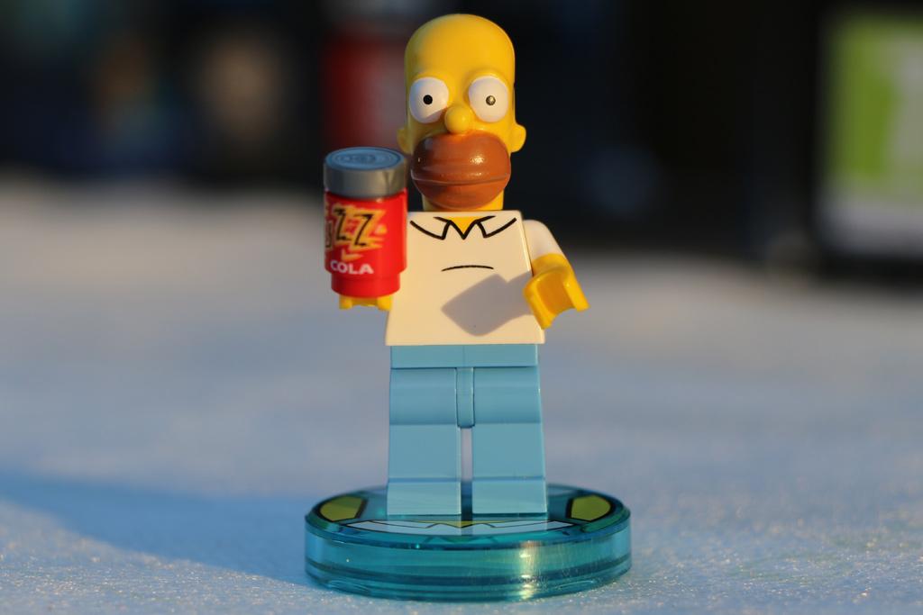 Homer will doch nur spielen! | © Andres Lehmann