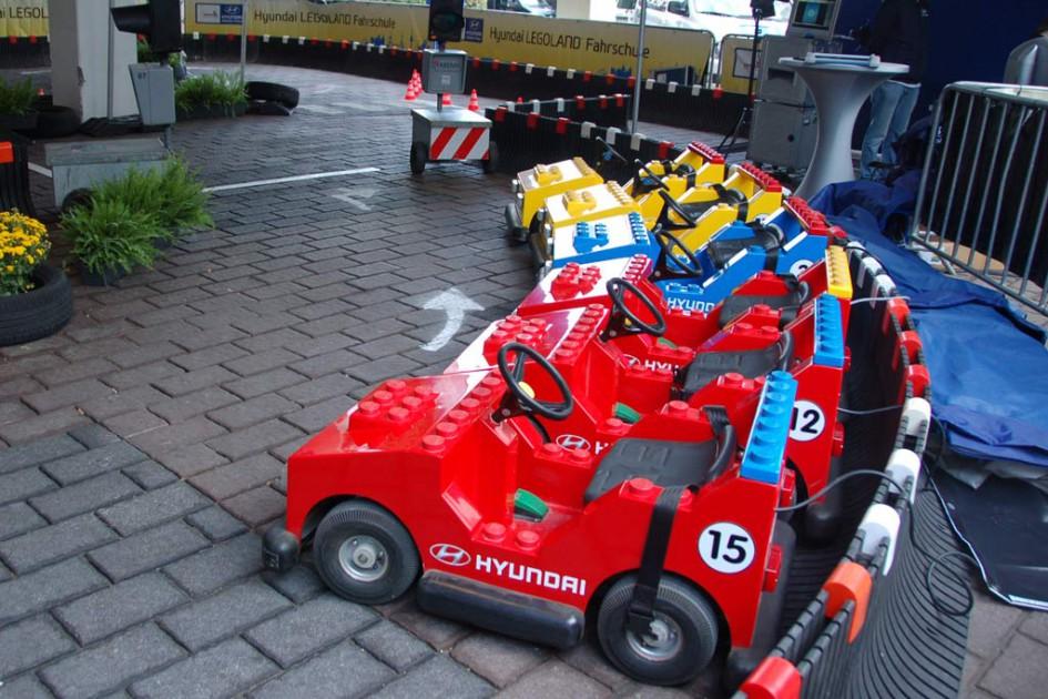 Alles ist bereitet für die Legoland Fahrschule | © Matthias Kuhnt