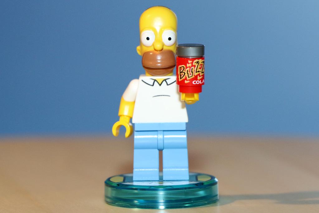 Homer und seine Buzz Cola | © Andres Lehmann