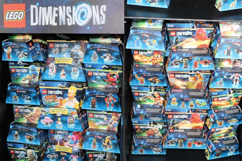 Lego Dimensions und die zahlreichen Erweiterungen | © Andres Lehmann