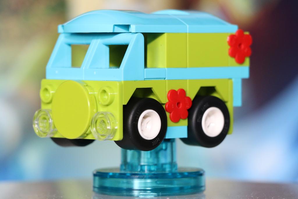 Mystery Machine in Lego Dimensions: Klein, aber fein | © Andres Lehmann