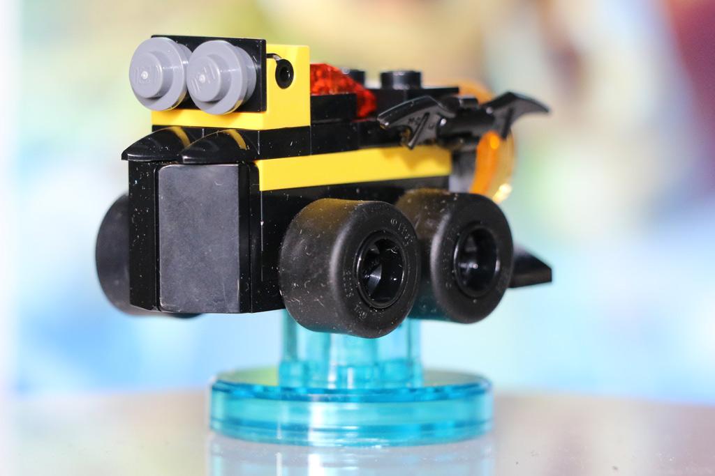 Das Batmobil lässt sich zwei Mal umbauen. | © Andres Lehmann