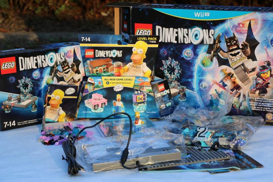 Lego Dimensions: Starter Pack und Simpsons Level Pack ausgepackt | © Andres Lehmann
