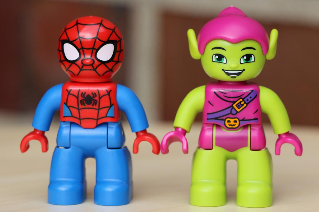 Spider-Man und der Grüne Kobold   © Andres Lehmann