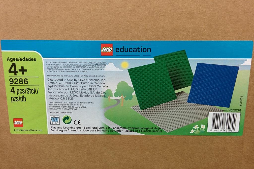 Lego Bauplatten als... Grundlage | © Andres Lehmann