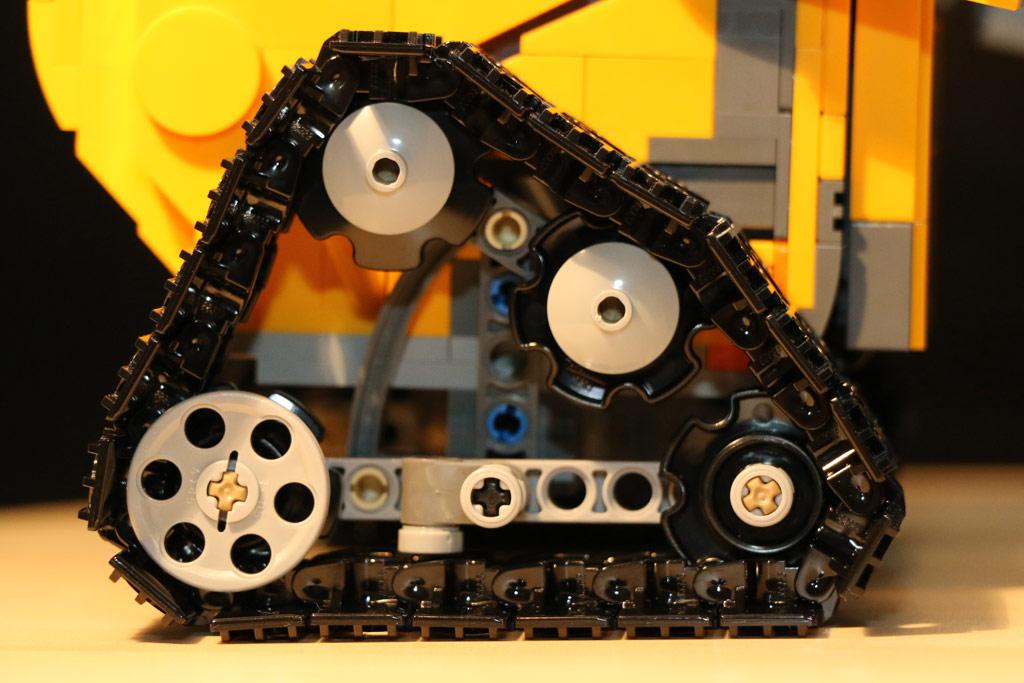 Viele Technic-Elemente kommen zum Einsatz. | © Andres Lehmann