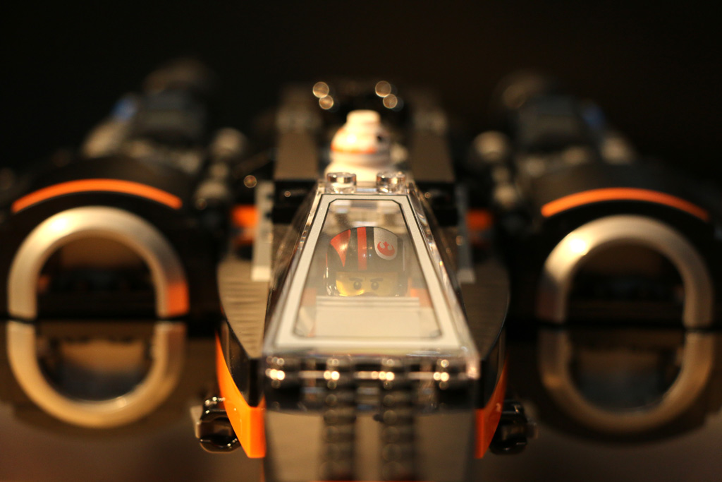 X-Wing ist startklar! | © Andres Lehmann