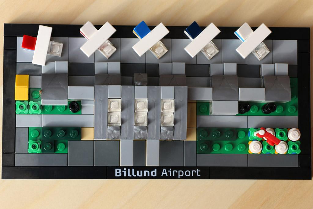 Flughafen aus der Vogelperspektive | © Andres Lehmann