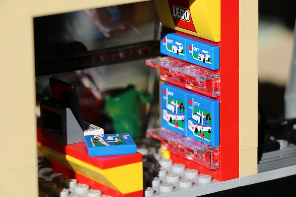 So ein Lego Set lässt sich auch im Zug zusammenbauen. | © Andres Lehmann