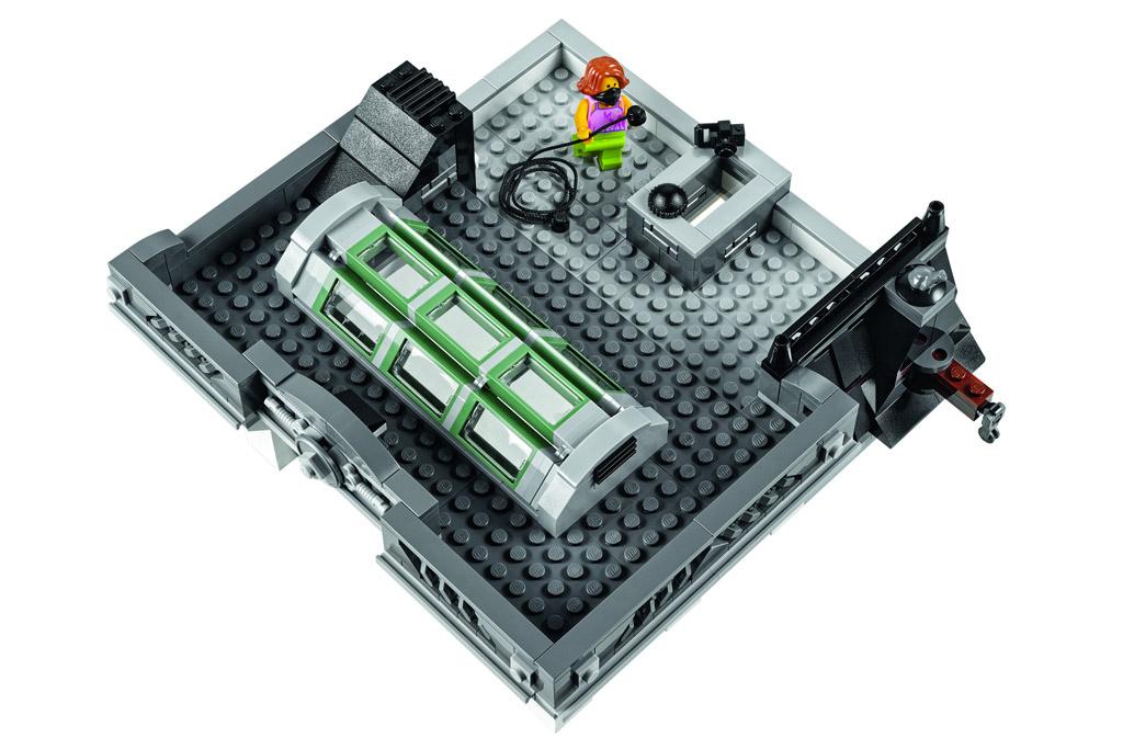 Was ist denn da auf dem Dach los? | © LEGO Group
