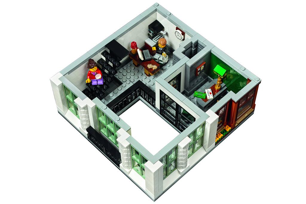 Kundenberatung und Büro des Bankdirektors | © LEGO Group