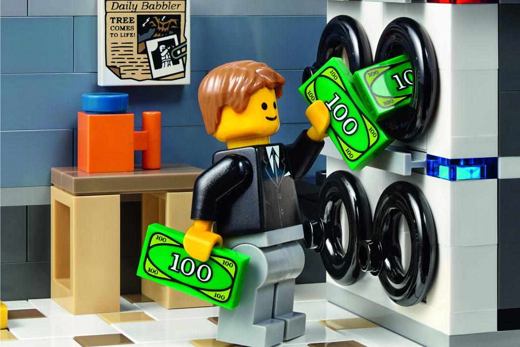 Geld waschen? Kein Problem! | © LEGO Group