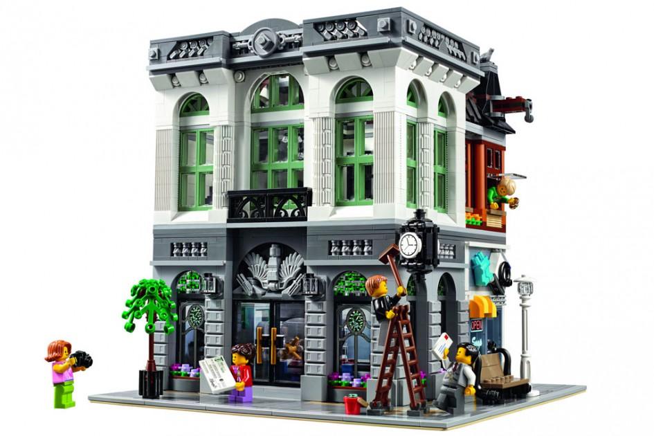 Neues Modular Building: Die Brink Bank |© LEGO Group