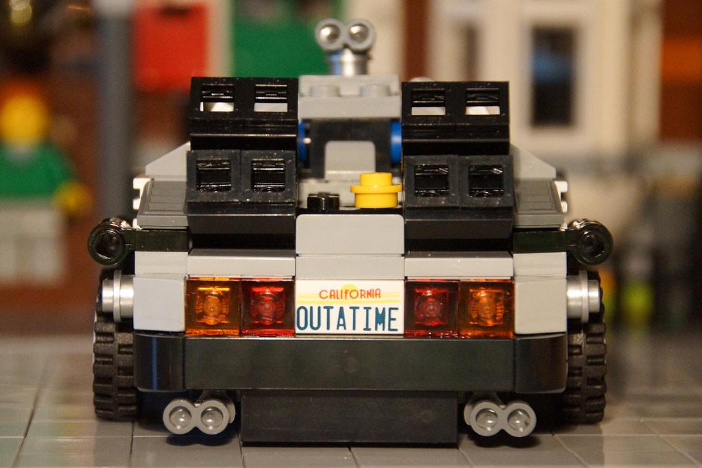 Originalgetreues Heck des DeLorean | © Andres Lehmann